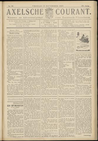 Axelsche Courant 1937-11-19