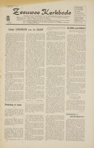 Zeeuwsche kerkbode, weekblad gewijd aan de belangen der gereformeerde kerken/ Zeeuwsch kerkblad 1964-06-12