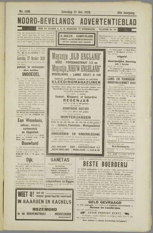 Noord-Bevelands Nieuws- en advertentieblad 1928-10-27
