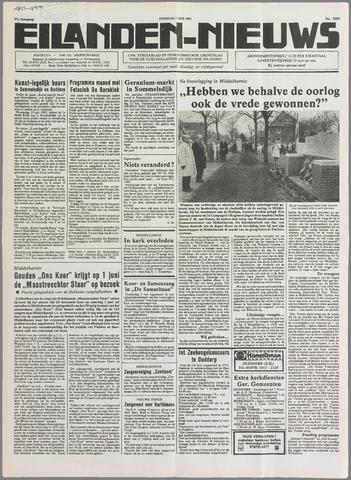 Eilanden-nieuws. Christelijk streekblad op gereformeerde grondslag 1985-05-07