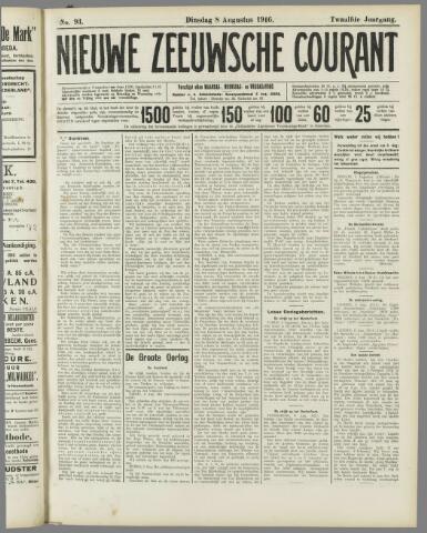 Nieuwe Zeeuwsche Courant 1916-08-08