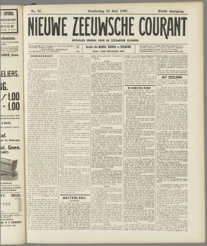 Nieuwe Zeeuwsche Courant 1907-07-25
