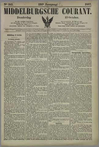 Middelburgsche Courant 1887-10-13