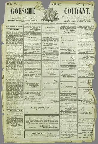 Goessche Courant 1906-01-01