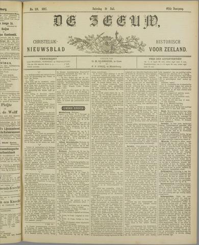 De Zeeuw. Christelijk-historisch nieuwsblad voor Zeeland 1897-07-10