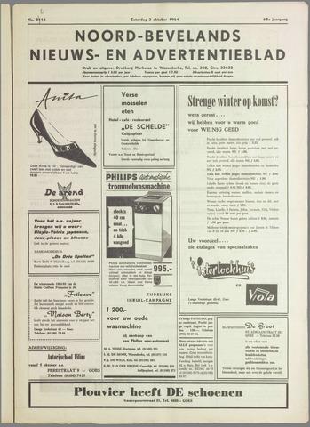 Noord-Bevelands Nieuws- en advertentieblad 1964-10-03