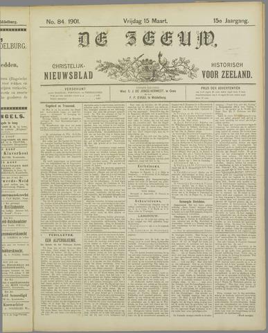 De Zeeuw. Christelijk-historisch nieuwsblad voor Zeeland 1901-03-15