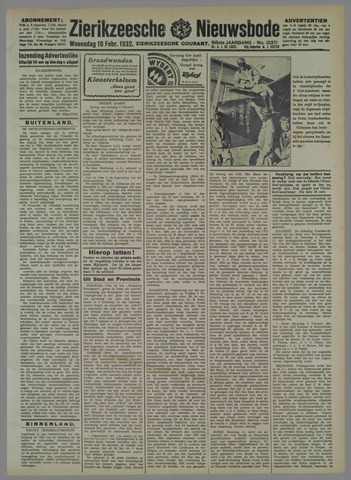 Zierikzeesche Nieuwsbode 1932-02-10