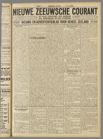 Nieuwe Zeeuwsche Courant 1931-07-02