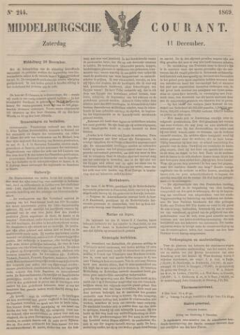 Middelburgsche Courant 1869-12-11