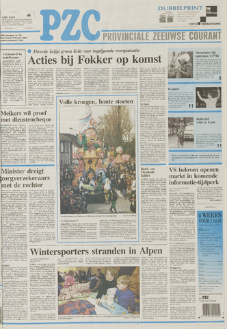 Provinciale Zeeuwse Courant 1995-02-27