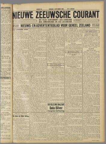 Nieuwe Zeeuwsche Courant 1933-09-05