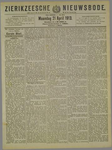 Zierikzeesche Nieuwsbode 1913-04-21