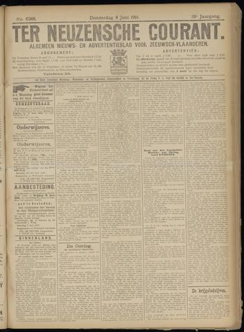 Ter Neuzensche Courant. Algemeen Nieuws- en Advertentieblad voor Zeeuwsch-Vlaanderen / Neuzensche Courant ... (idem) / (Algemeen) nieuws en advertentieblad voor Zeeuwsch-Vlaanderen 1916-06-08