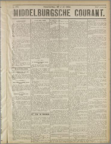Middelburgsche Courant 1922-07-27