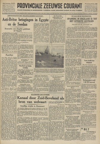Provinciale Zeeuwse Courant 1951-10-24