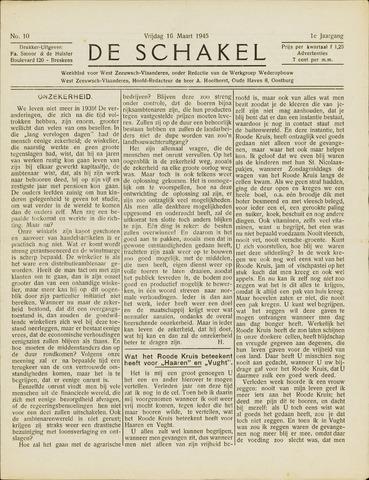 De Schakel 1945-03-16