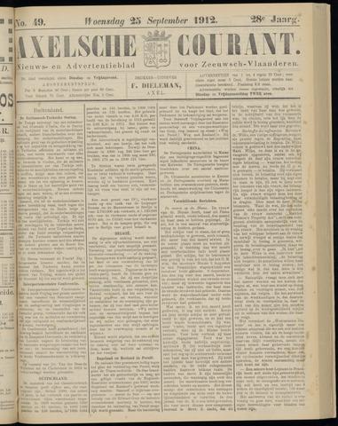 Axelsche Courant 1912-09-25