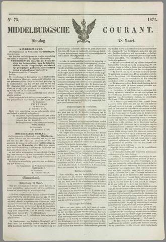 Middelburgsche Courant 1871-03-28