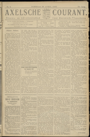 Axelsche Courant 1935-04-30