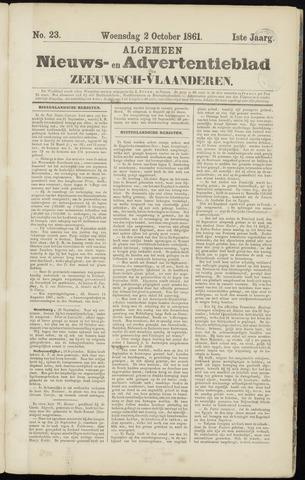 Ter Neuzensche Courant. Algemeen Nieuws- en Advertentieblad voor Zeeuwsch-Vlaanderen / Neuzensche Courant ... (idem) / (Algemeen) nieuws en advertentieblad voor Zeeuwsch-Vlaanderen 1861-10-02