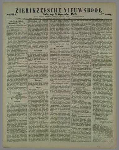 Zierikzeesche Nieuwsbode 1888-12-08