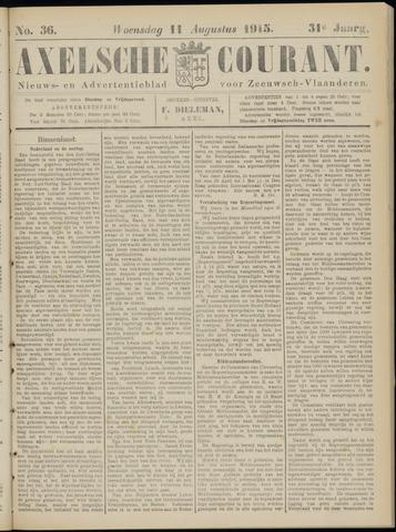Axelsche Courant 1915-08-11