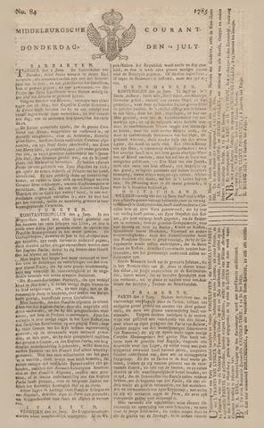 Middelburgsche Courant 1785-07-14