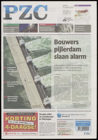 Provinciale Zeeuwse Courant 2013-08-30