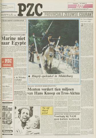 Provinciale Zeeuwse Courant 1984-08-16
