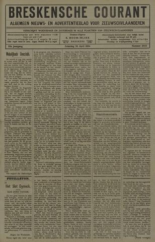 Breskensche Courant 1924-04-26