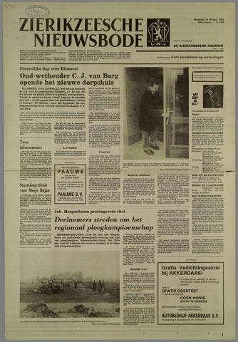 Zierikzeesche Nieuwsbode 1981-10-19