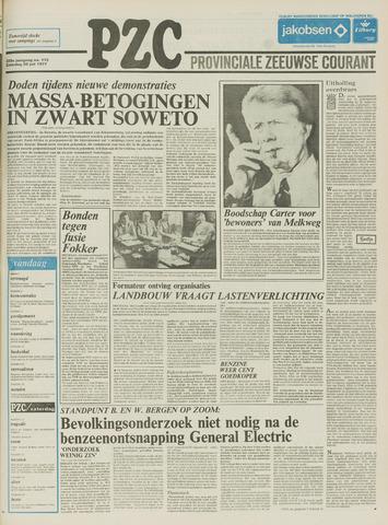 Provinciale Zeeuwse Courant 1977-07-30