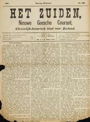 Het Zuiden, Christelijk-historisch blad 1885