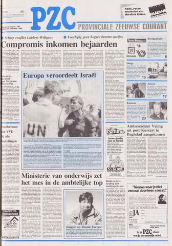 Provinciale Zeeuwse Courant 1990-10-12