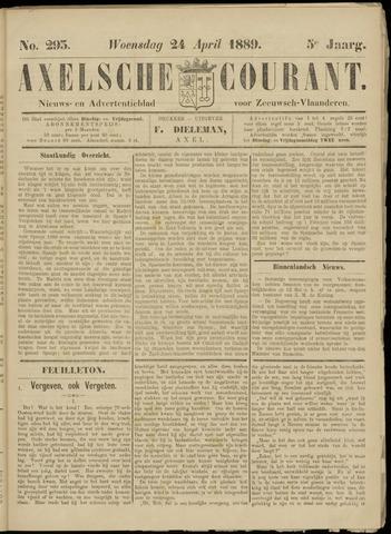 Axelsche Courant 1889-04-24