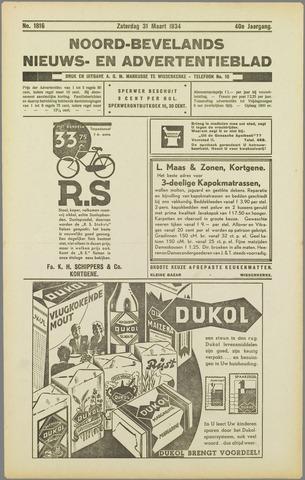 Noord-Bevelands Nieuws- en advertentieblad 1934-03-31