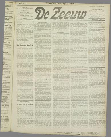 De Zeeuw. Christelijk-historisch nieuwsblad voor Zeeland 1917-04-28