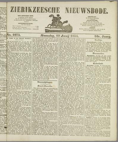Zierikzeesche Nieuwsbode 1854-06-19