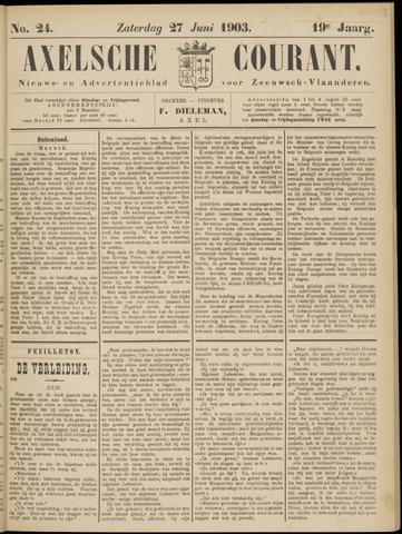 Axelsche Courant 1903-06-27