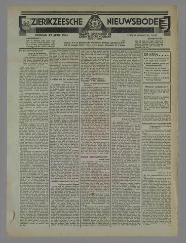 Zierikzeesche Nieuwsbode 1941-04-29