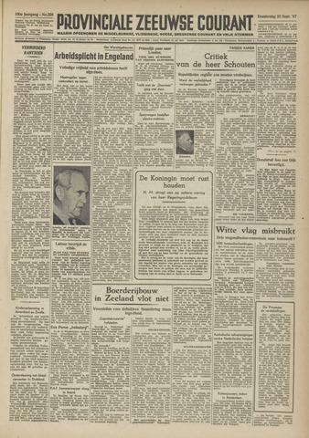 Provinciale Zeeuwse Courant 1947-09-25