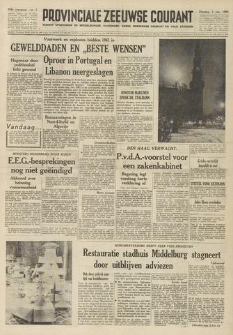 Provinciale Zeeuwse Courant 1962