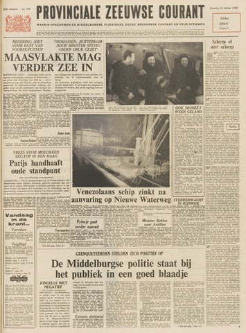 Provinciale Zeeuwse Courant 1969-10-18
