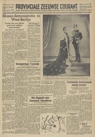 Provinciale Zeeuwse Courant 1948-09-10