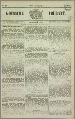 Goessche Courant 1856-04-03