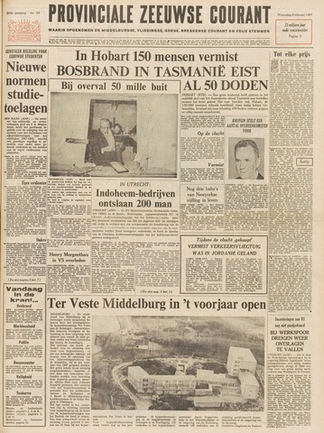 Provinciale Zeeuwse Courant 1967-02-08
