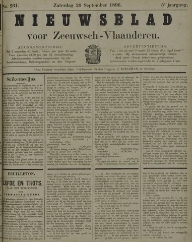 Nieuwsblad voor Zeeuwsch-Vlaanderen 1896-09-26