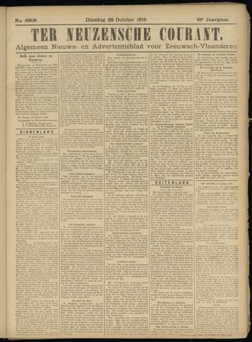 Ter Neuzensche Courant. Algemeen Nieuws- en Advertentieblad voor Zeeuwsch-Vlaanderen / Neuzensche Courant ... (idem) / (Algemeen) nieuws en advertentieblad voor Zeeuwsch-Vlaanderen 1919-10-28