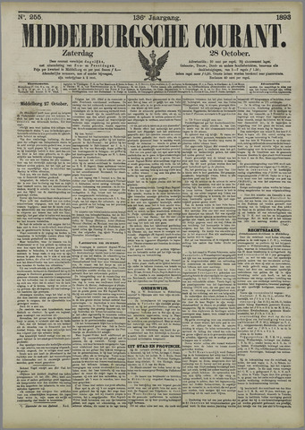 Middelburgsche Courant 1893-10-28